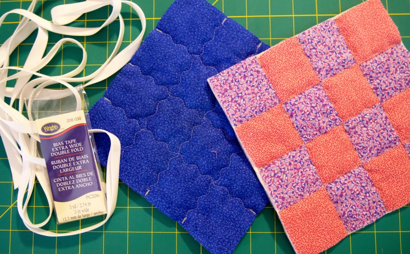 Quilt Binding with Bias Tape
