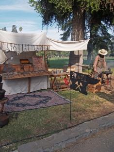Blacksmith booth