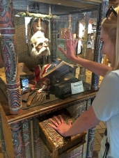 Getting my diagnosis from Shrunken Ned
