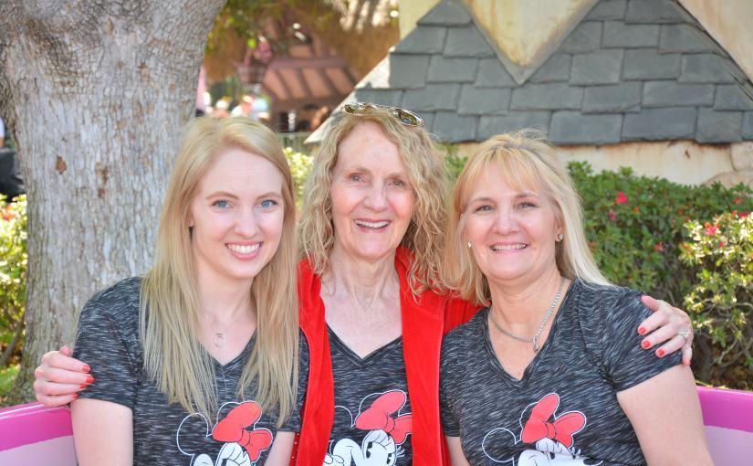 Disneyland for Grandma's 80thBirthday