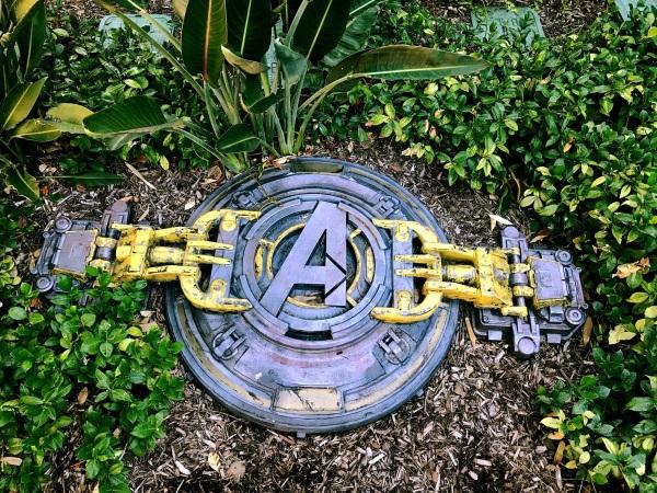 Avengers Manhole
